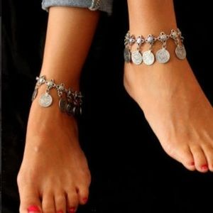 Jewelry - 🆕 JUST IN Old Turkish Boho Coin Ankle Bracelet